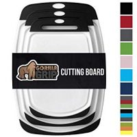 Gorilla Grip Original Reversible Cutting Board (3-Piece)