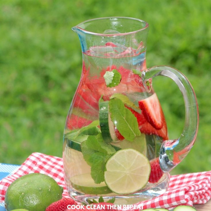 Infused Water With Fresh Fruit!