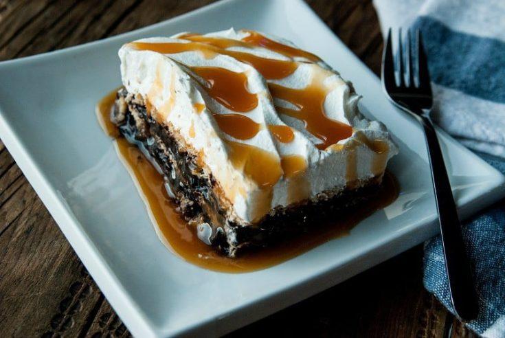 Easy No Bake Chocolate Pudding Cake Recipe