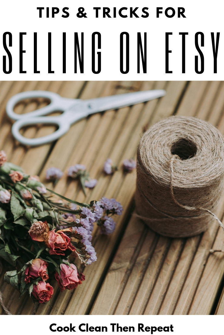 Selling on Etsy doesn't have to be an overwhelming nightmare. Let me show you some easy ways to make sure your shop stands out from the rest. Learn to be a successful seller on Etsy!