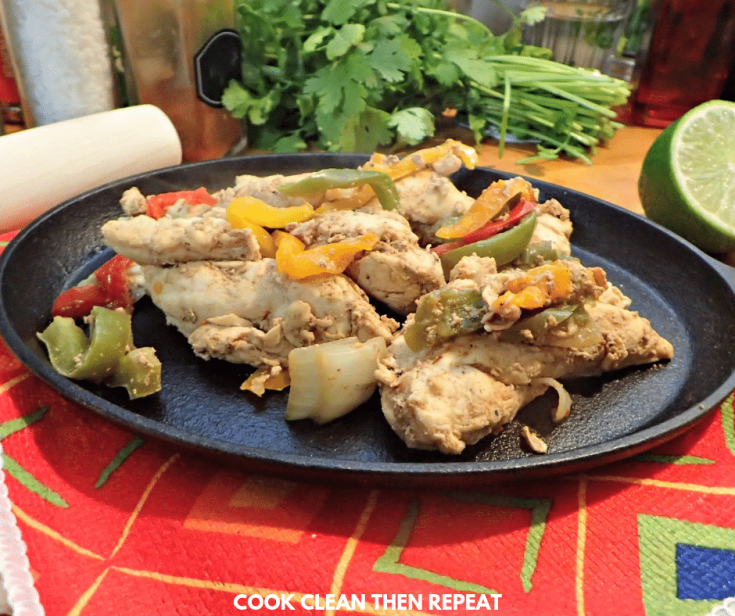 How To Make Chicken Fajitas The Easy Way!