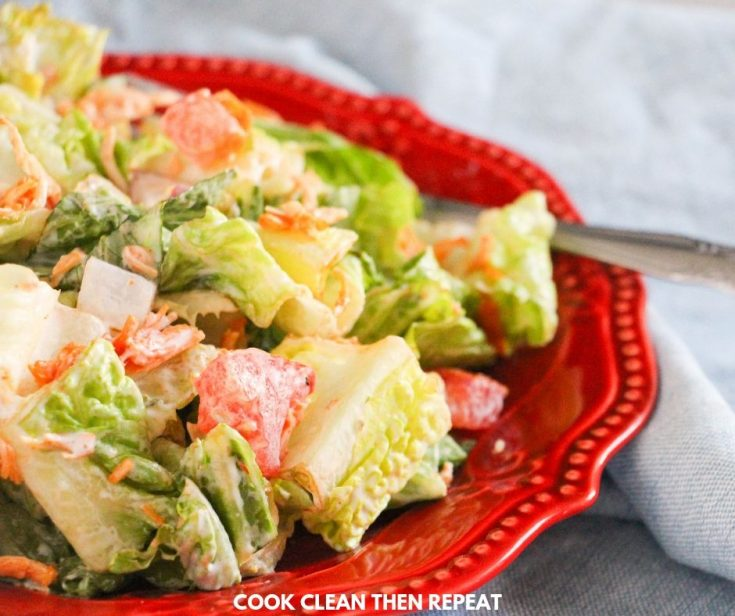 Quick & Tasty Buffalo Chicken Salad