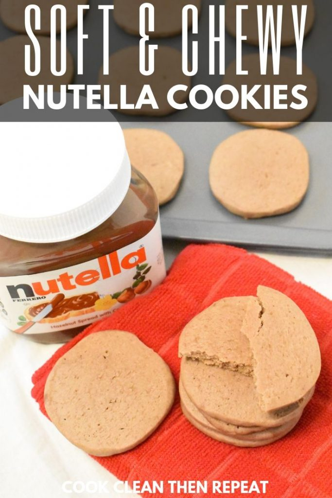 A second pin for nutella cookies
