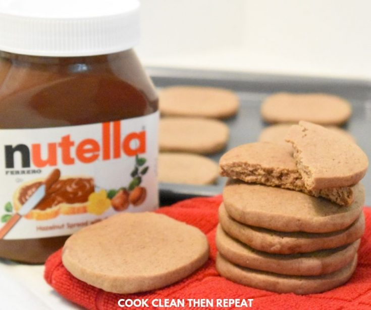 Soft & Chewy Nutella Sugar Cookies