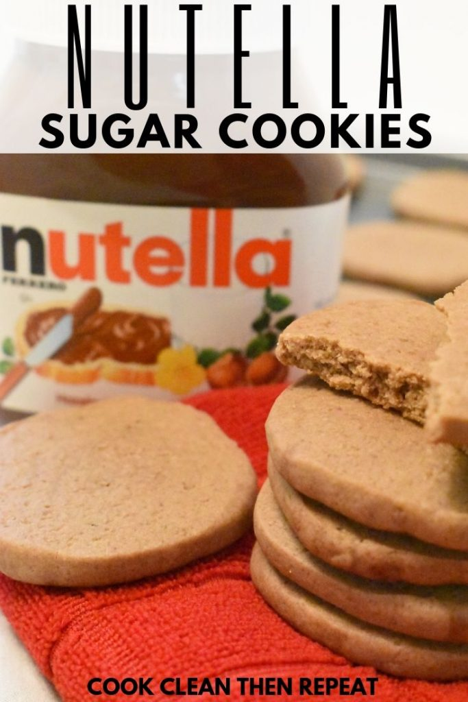 One type of pin for Nutella Cookies