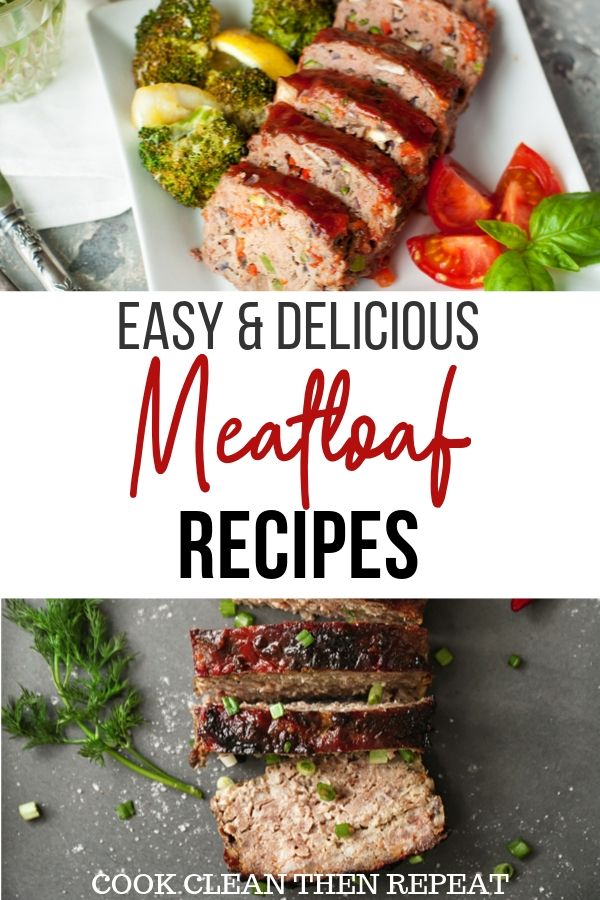 pin for meatloaf recipes roundup
