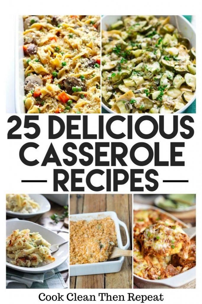 25 Delicious Casserole Recipes Pin