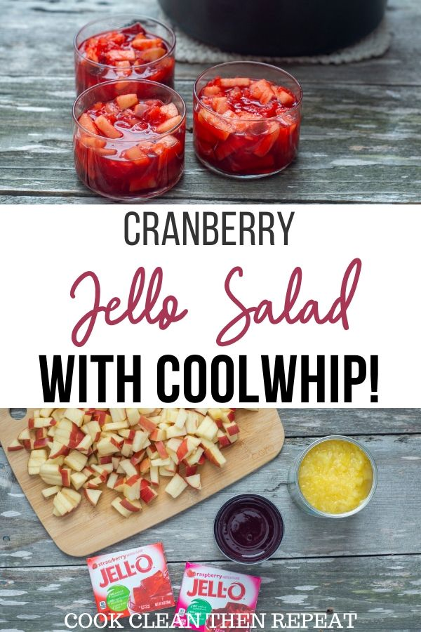 Cranberry Jello Salad with Coolwhip Pin