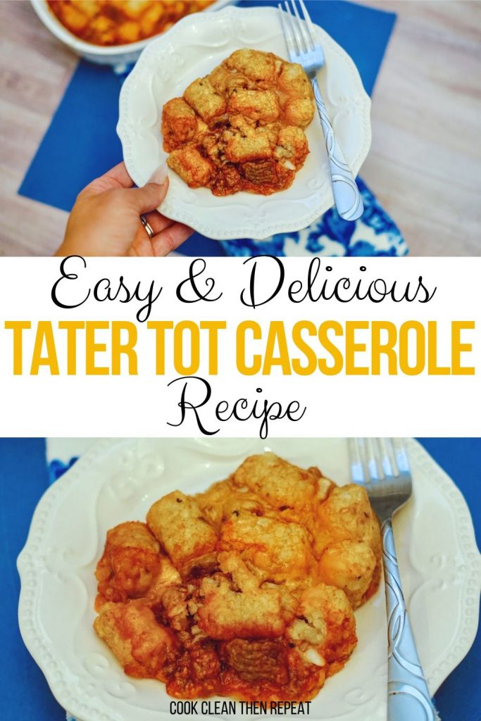 Another pin for the tater tot casserole recipe