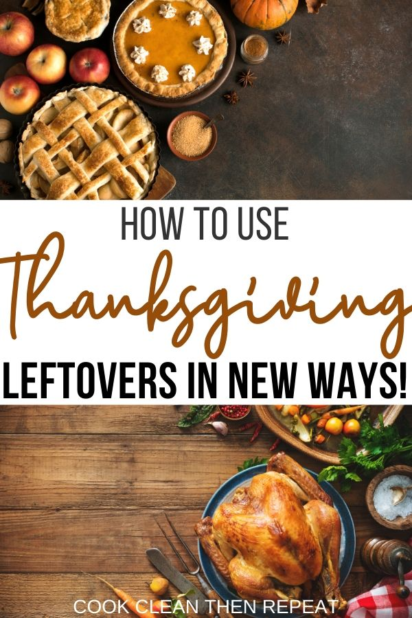 Pin for thanksgiving leftovers post