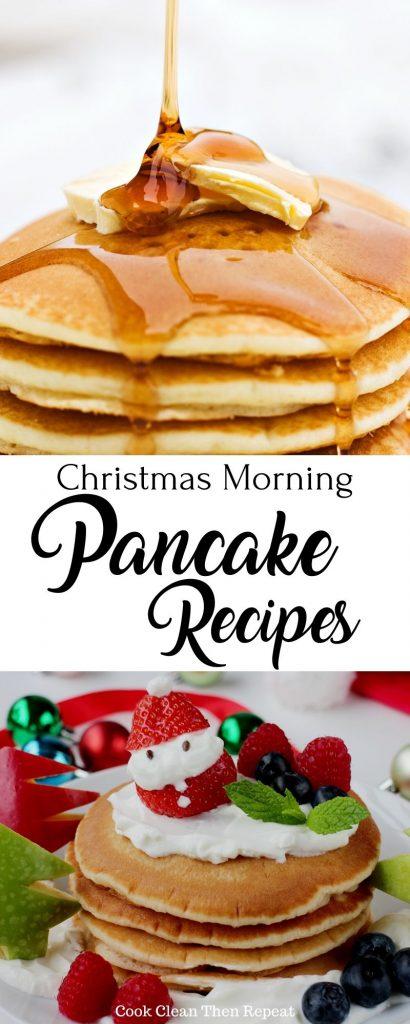 Christmas morning pancakes pin