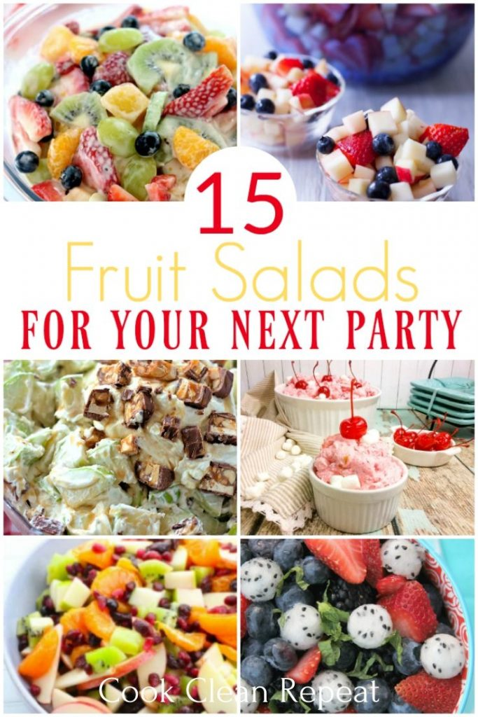 pin for fruit salad recipes