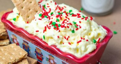 Featured image for the cheesecake dip recipe