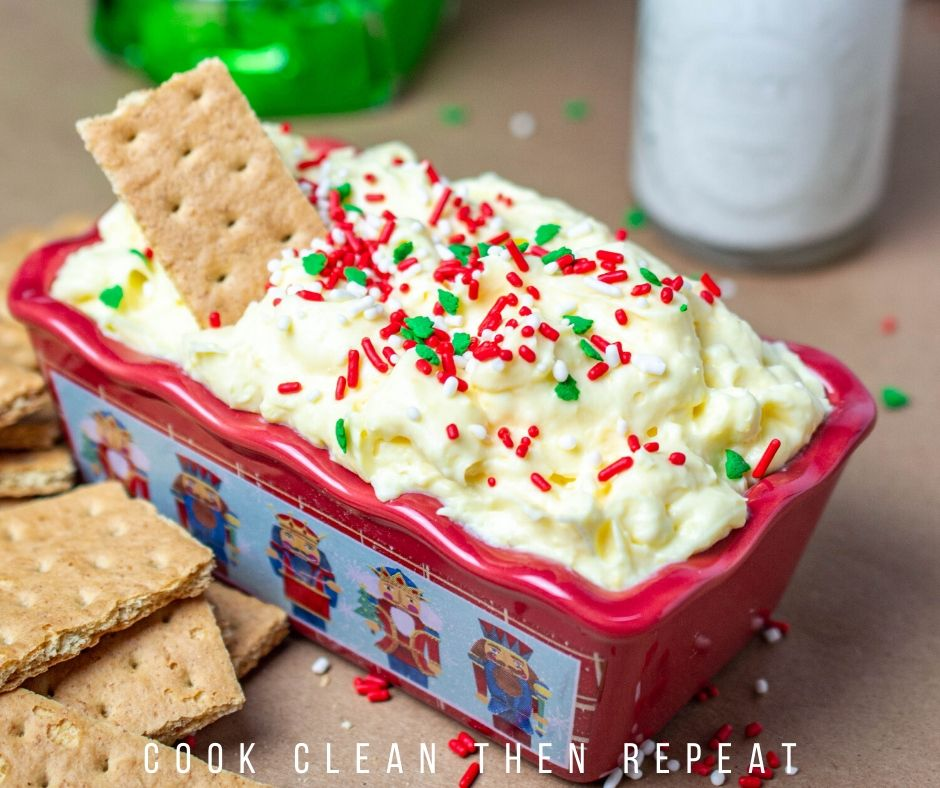 White Chocolate Cheesecake Dip Cook Clean Repeat