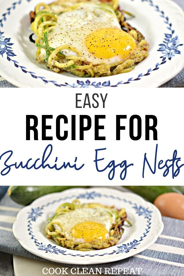 Another pin for the easy zucchini egg nests
