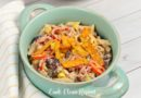 Featured image showing the finished pasta salad with tuna.