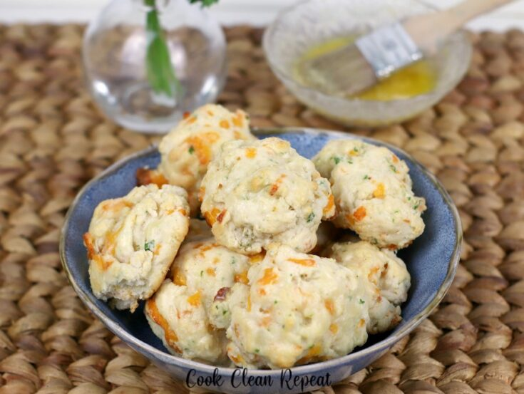 Featured image showing the finished Ruby Tuesday biscuits in a bowl ready to be served.