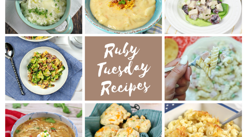 featured image showing the collage of recipes ready to be eaten with title in the middle.