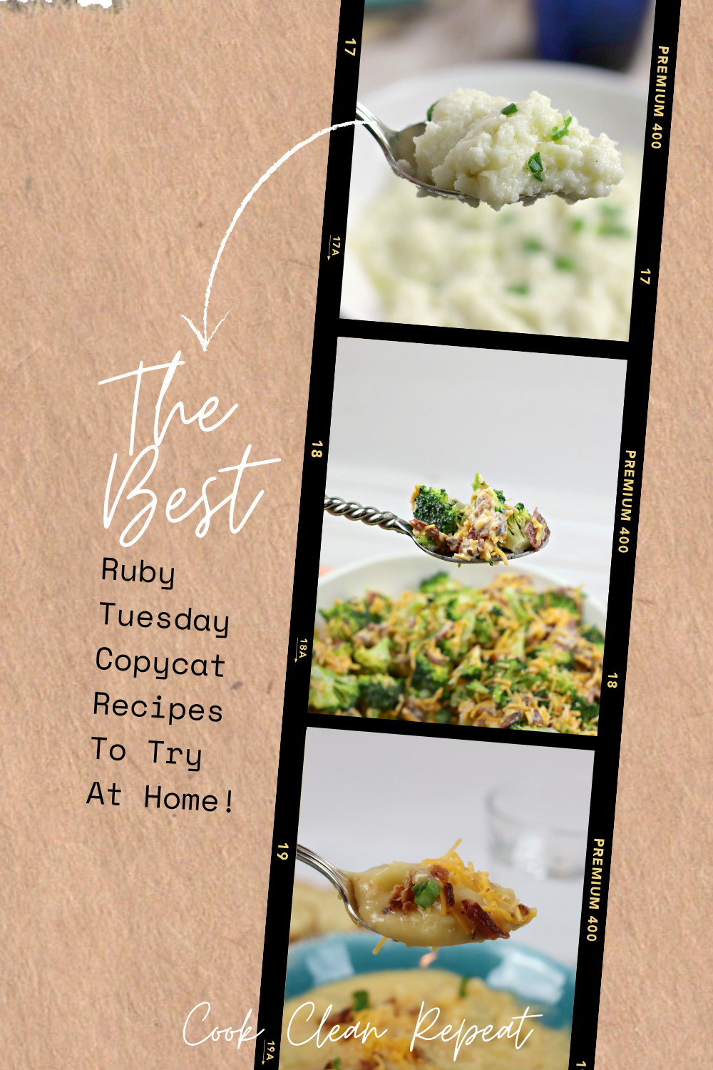 Pin showing the ruby Tuesday copycat recipes ready to be enjoyed.