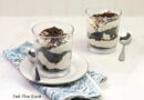 A featured image showing the finished cookies and cream no bake dessert served in cups ready to enjoy.