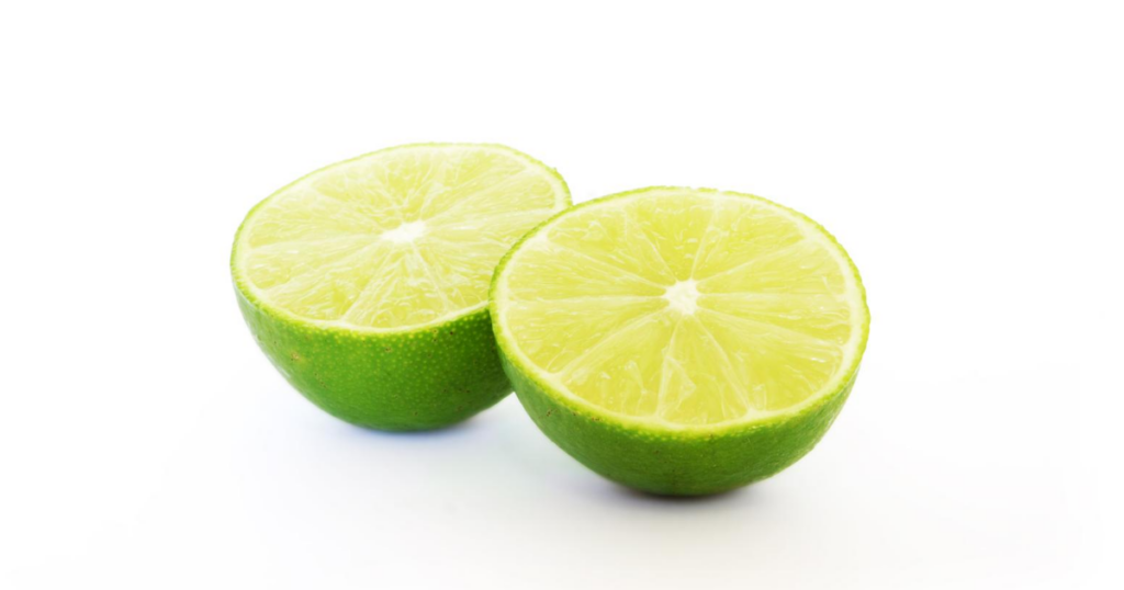 lime juice clean