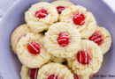 featured image showing the finished eggnog cookies ready to eat or share.