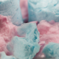 cotton candy ready to eat