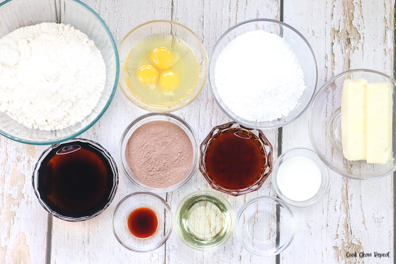 ingredients needed to make dr pepper cupcakes